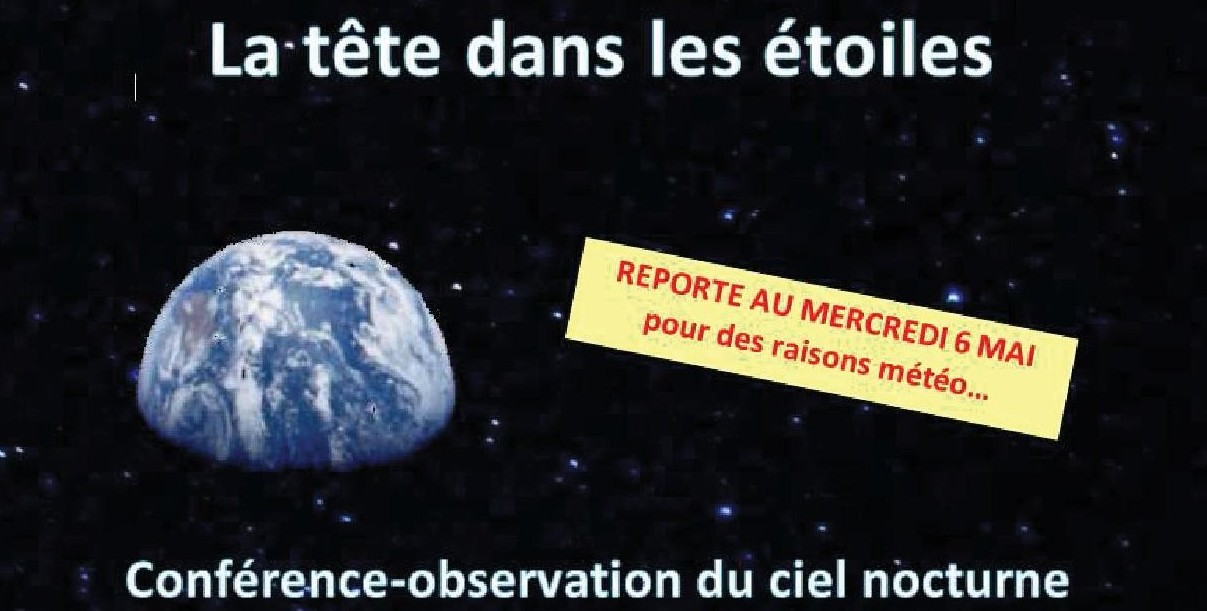 Rencontre astronomique printemps 2018